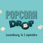 #PopCornDrop : Utopia largue une cargaison de popcorn sur Luxembourg avec Vanksen