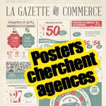 La Chambre de Commerce fait appel à la créativité des agences pour réaliser les posters du magazine Merkur