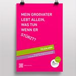 La Ville de Luxembourg promeut son service Téléalarme via une campagne print signée Bizart