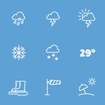 Téléchargez gratuitement le pack d'icônes météo signé Human Made