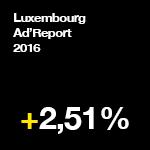 Luxembourg Ad'Report 2016 : la publicité fait mieux qu'en 2015