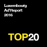 Qui sont les plus gros annonceurs du Luxembourg en 2016?