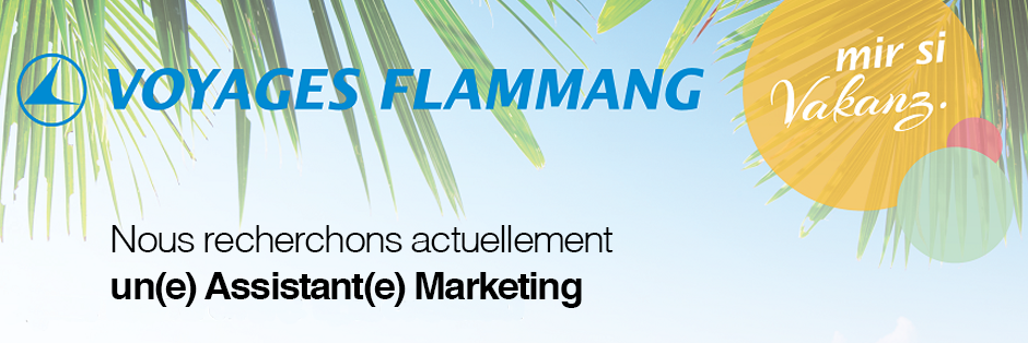 Voyages Flammang recrute