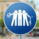 #Partageonslaville : la campagne de la VDL qui doit réconcilier les usagers de la route. Signée Comed.