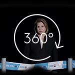 La Grande-Duchesse Maria Teresa et 8 autres personnalités luxembourgeoises offrent leur image à Handicap International dans un spot publicitaire à 360°