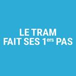 Tram en phase de test à Luxembourg : Luxtram lance une campagne de sensibilisation avec binsfeld