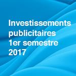 Les investissements publicitaires au Luxembourg en baisse au premier semestre 2017