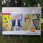 Stick, le street artist luxembourgeois qui sans le vouloir fait partie de la campagne électorale 2017