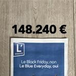 Pige publicitaire : 148.000 euros de publicité dans L'Essentiel du «Black Friday»