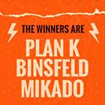 Plan K, binsfeld et Mikado sur le podium du MarkCom Creativity Camp 2018