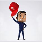 Total Luxembourg rajeunit sa mascotte avec Concept Factory