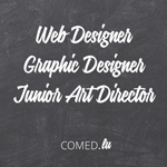 Comed recrute un(e) Webdesigner, un(e) Graphic designer et un(e) Junior Art Director