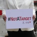 La Croix-Rouge luxembourgeoise prend part à la campagne #notatarget avec la Grande-Duchesse