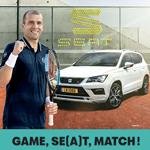SEAT Luxembourg mise sur le tennisman Gilles Muller avec Noosphere