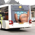 La campagne #culdebus de Supermiro que vous ne verrez jamais