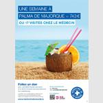 Médecins du Monde interpelle les «chanceux» vacanciers avec l'agence VOUS