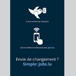 Jobs.lu joue la simplicité avec une campagne réalisée en interne