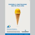 Luxcontrol en campagne pour ses 40 ans avec Concept Factory