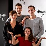 Julie Wattiaux, Amélie Duchêne, Alexandre Michel et Pierre Taburiaux rejoignent Noosphere
