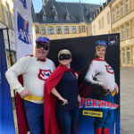 [Street Marketing] AXA Luxembourg s'associe à Superjhemp avec Push The Brand