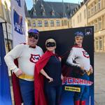 [Street Marketing] AXA Luxembourg s'associe à Superjhemp avec Push The Brand