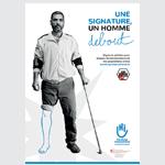 Handicap International Luxembourg en campagne avec la Graphisterie Générale
