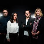 Nathalie Nunes, Aurélien Luiselli, Julien Renault et Heike Fries au comité de direction de binsfeld