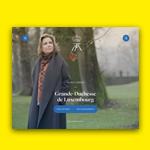 La Grande-Duchesse de Luxembourg lance son site internet avec explose