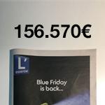 Pige publicitaire: 156.000 euros de publicité dans L'essentiel du «Black Friday» 2018!