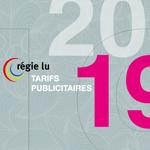 [Tarifs Média] Téléchargez les tarifs 2019 de la régie publicitaire Régie.lu