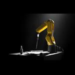 FANUC mêle calligraphie et robotique pour ses voeux 2019