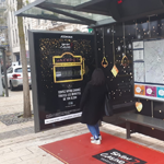 [Street Marketing] À Metz, JCDecaux transforme un abribus en slot machine pour le Seven Casino