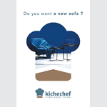 Kichechef dévoile son nouvel univers de marque dans une campagne signée BetoCee
