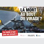 Le Ministère de la Mobilité et des Travaux publics sensibilise les motards avec Plan k