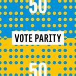 50-50: Le MEGA fait campagne pour un vote paritaire avec l'agence accentaigu