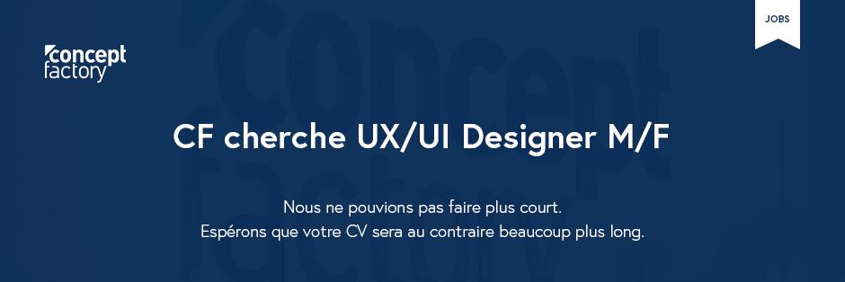 Concept Factory UX-UI Designer