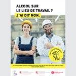 Le Ministère de la Santé dit non à l'alcool sur le lieu de travail avec Noosphere