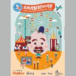 L'illustratrice Nadia Recken signe l'affiche de la Schueberfouer 2019