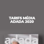 [Tarifs Média] Téléchargez les tarifs publicitaires 2020 d'adada.lu et adada offline