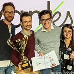 L'équipe Vanksen vainqueur de la Google OptiScore Race