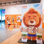 La marque ING toujours plus présente à l'aéroport du Findel avec l'installation d'un Kid's Corner