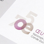 Julie Conrad signe l'identité anniversaire des 75 ans de l'Œuvre